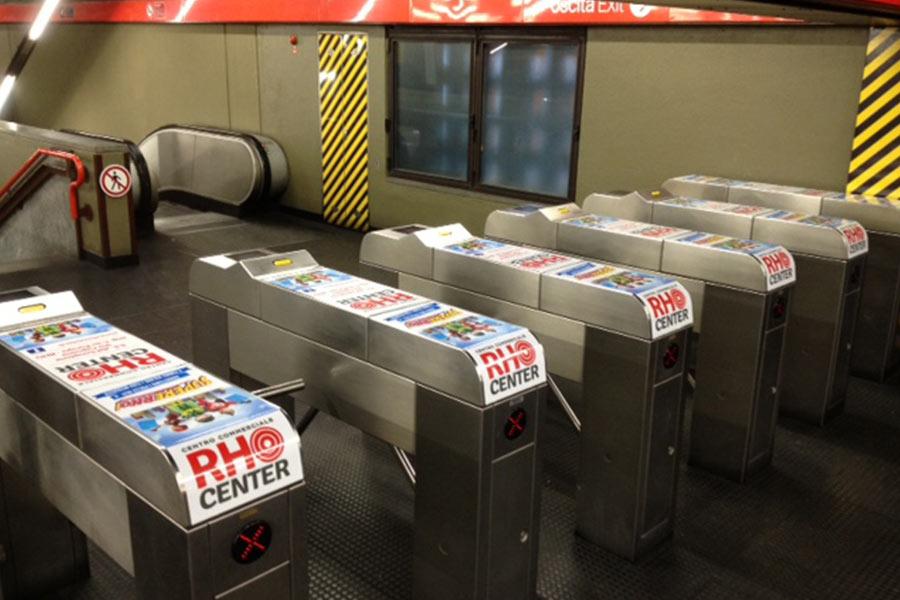 Pubblicità in metropolitana